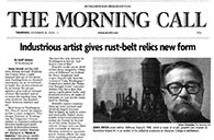 The Morning Call, Bethlehem, PA review link